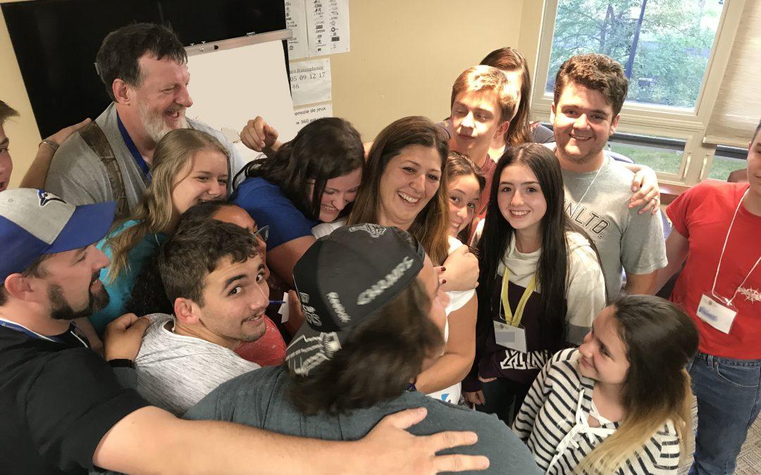 Camp d'été Blair Doucet: Où les participant(e)s apprennent au sujet de la solidarité